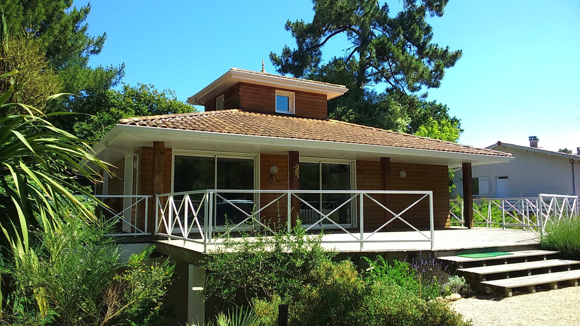 Location vacances appartement arcachon villas et maisons for Location maison vacances arcachon piscine